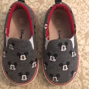 Toddler Mickey Mouse slip on shoes baby gap